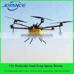 2017 hotselling 15 L pesticide spraying drone / uav agricultural drone