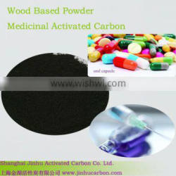 Pharmaceutical industry activated carbon