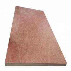 High quality 1220*2440*3mm Sapele coated commercial plywood for furniture