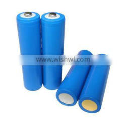 Customized 3.7V/2000,2200, 2500, 2600mAh 18650 li ion rechargeable battery for solar lantern, torch, floodlights