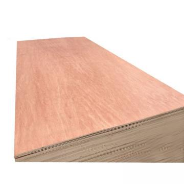 18mm sapellia face ,poplar core ,WBP glue ,two time hot pressed commercial plywood