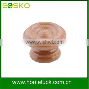 Hot sale kitchen cabinet wooden knobs and handles from factory
