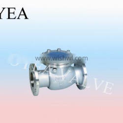 ANSI GB High Temperature High Pressure Flange Power Station Check Valve