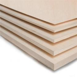 White HPL Faced Plywood with Poplar Core