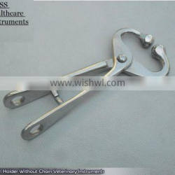 Bull Holder Without Chain Veterinary Instruments