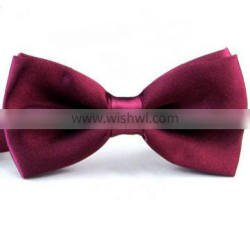 cheap Adjustable Solid Colorful wholesale bow tie