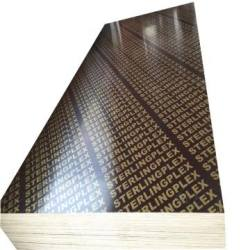 16mm Black Film Faced Marine Plywood for Formwork Construction