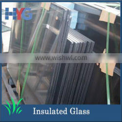 Heat-resistant and soundproof laminated insulated building glass wall with factory price for glass curtains