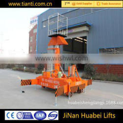 CE ISO9001 vertical titing elevator platform with wheels