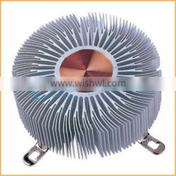 CHUANGHE supply custom cylindrical aluminium heat sink