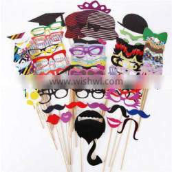 Photo Booth Props Party Wedding Photo Booth Props Dress-up cartoon party paper masks