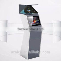 15 inch free standing 3d full hd led video display advertising media player