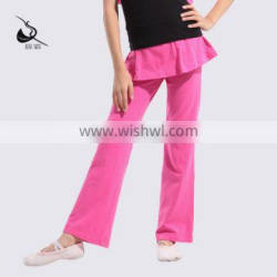 11522601 Girls with Skirts Dance Pants