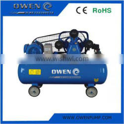 7.5HP W type Portable piston belt driven Air Compressor with CE,ROHS