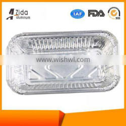 New style high grade disposable fast food oval foil container