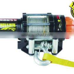 Small electric winch NVT2500(2500lbs) with synthetic rope