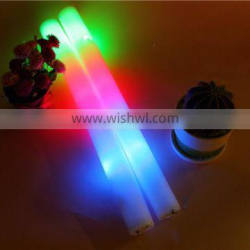 Top quality Wholesale led foam flashing light cotton candy stick