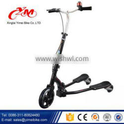 Kick Adult Three Wheel Kids Scooter Price , light kick scooter with ring for kids , pro kick scooter 2 large wheels adult scoote