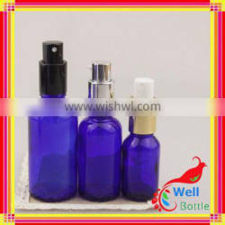 30 ml Cobalt Blue Glass Spray Bottles Wholesale Essential Oils Glass Bottle J5-012R