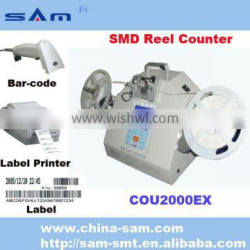 Leak detection with bar scanner and label printer SMD electronic Counter