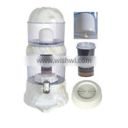 Hot sale 16L deep blue color mineral water pot counter top filter RY-16G-3