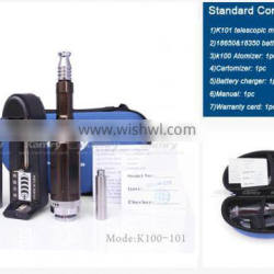 china rebuildable atomizer k101 colorful cigarette electronic starter kit kecig k101 with high demand