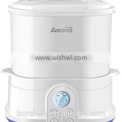 Multifunction Intelligent electric baby complementary food cooker and family steam superior sterilizer