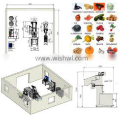 Pineapple juice processing line and pineapple juice machinery equipment
