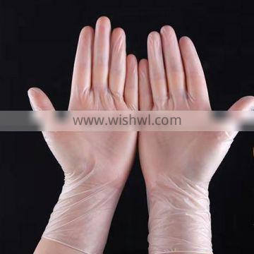 Food grade non sterile disposable vinyl gloves with customer brand
