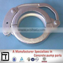 DN80 concrete pump pipe snap coupling Putzmeister clamp