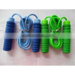crossfit jump rope with bearing / with foam handle