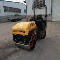 Double Drum Roller Compactor Diesel And Gasoline Single Drum
