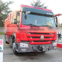 Export selling sinotruck howo Sprinkling fire truck manufacturer in China