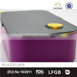Food Contanier Box with Silicone Ring, Food Grade, FDA Approved, BPA Free , Eco-friendly Material by Cn Crown