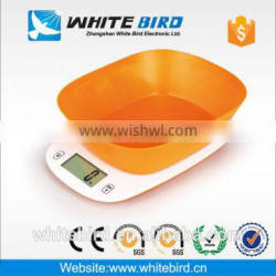 5kg LCD electronic digital household kitchen scale with bowl