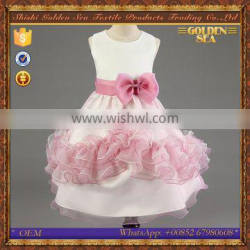 princess baby girl organza lovely children party dresses