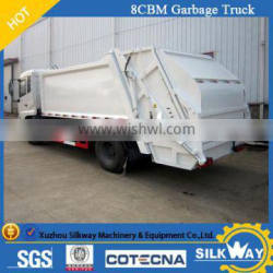 6cbm Chinese brand garbage compactor truck in good quality and best price