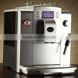 19 Bar Espresso Coffee Maker With Visible Operation System (LCD) and 10 Languages Function