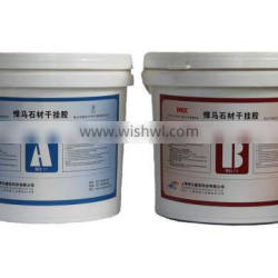 marble epoxy stone material dry hanging adhesive price