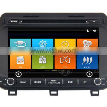 GPS digital media player Car dvd headunit For K5 2015 with Win CE 6.0 system 800MHz 3G Phone GPS DVD BT