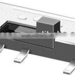8 pin smd slide switch MS-23C01