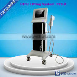 best selling products in America high intensity focused ultrasound face lifting tool/face lifting tens/face lifting thre PZ 9.0