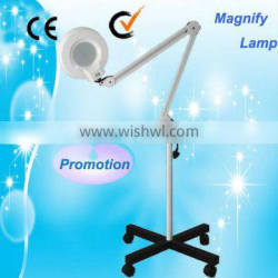Cosmetic Au-662 Magnifying Floor Medical Lamp Led Light Magnifying Vertical