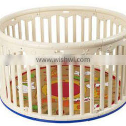 baby playpen with soft cushion (passed EN12227-1&2:1999) baby product