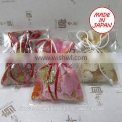 Various types of Japanese scent bags for car accessory