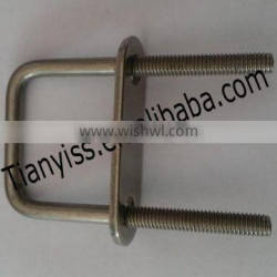 ss u-bolt pipe clamp with cheap price