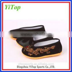 Hotsale Chinese Traditional martial arts kids kung fu shoes