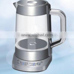 New Design Multifunction Electric Transparent Glass Kettle With Control Panel Quality Choice