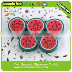 watermelon cute eraser gift extruded promotion stationery