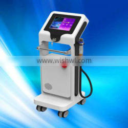 2014 newest fractional rf microneedle facial beauty machine for wrinkle reduction and skin tighten / rf fractional micro needle